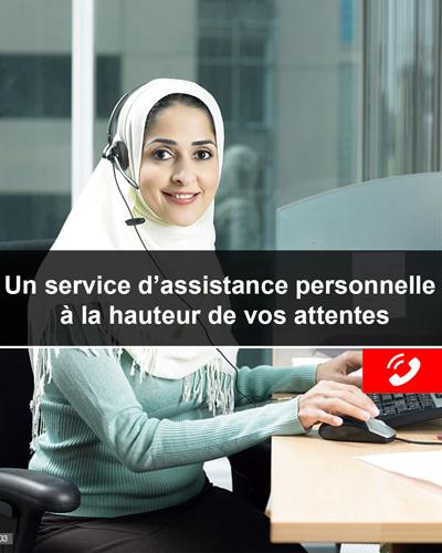 secrétaire personnelle centre d'appel Maroc
