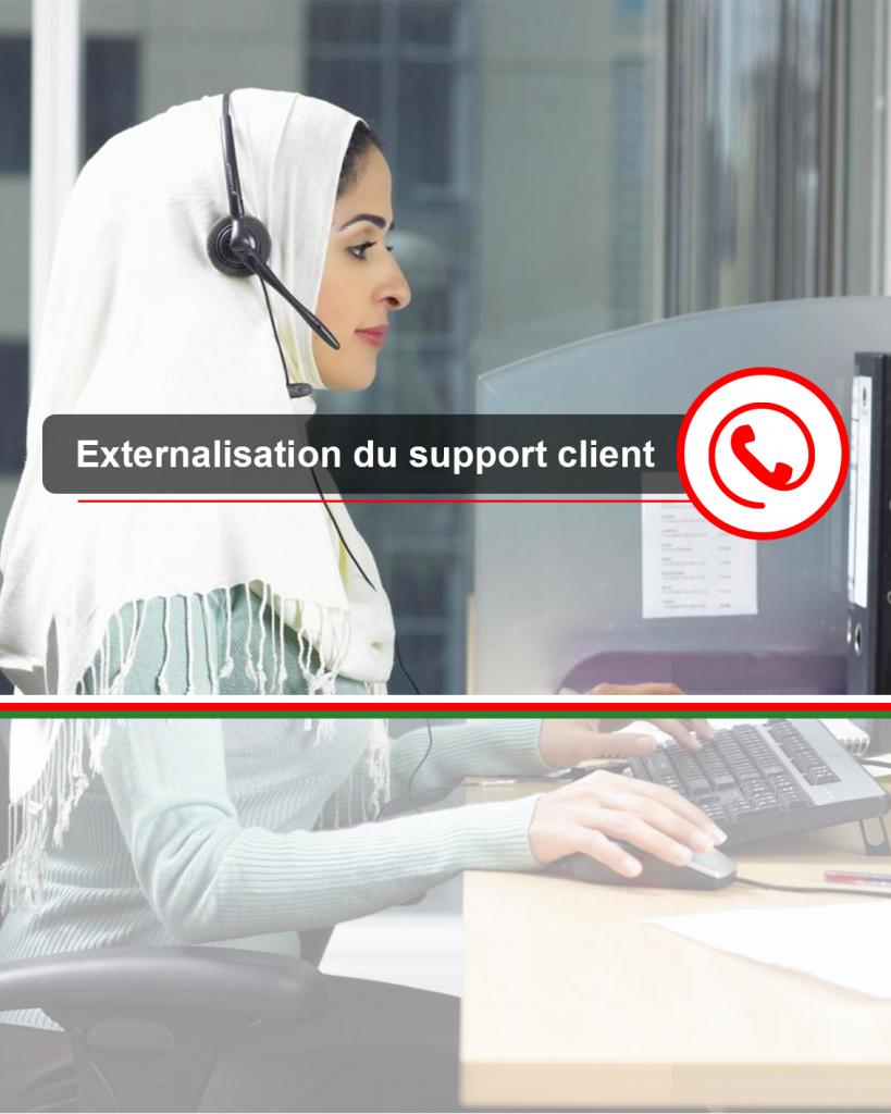 relation client centre d'appel Maroc